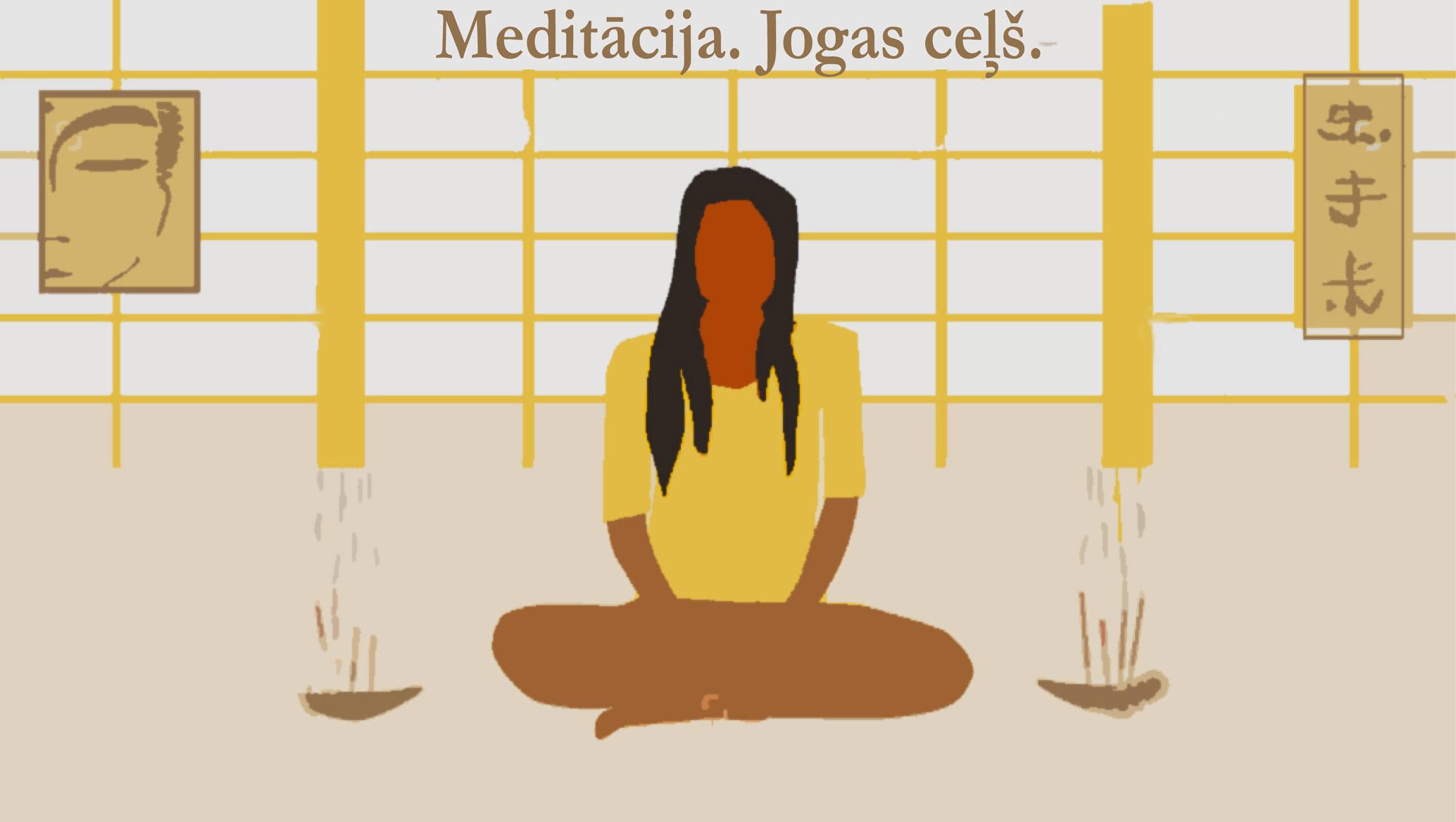 Meditācija, jogas ceļš